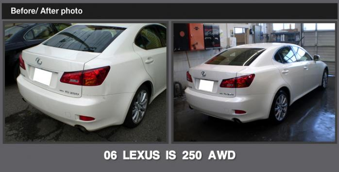Before And After Gallery Accucraft Collision Center In Seattle - Lexus collision center